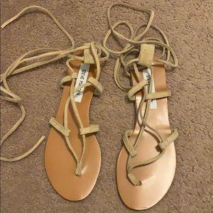 Steve Madden tie up sandals